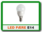 Find dine E14 LED p�re her