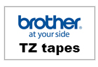 Find dine Brother TZ Tapes her.