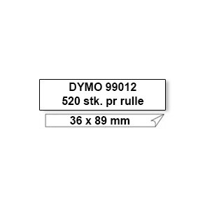 Dymo Label 99012