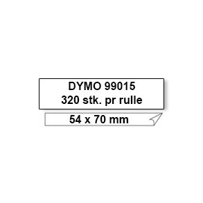 Dymo Label 99015