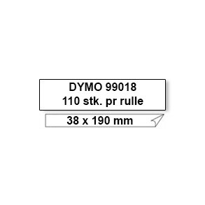 Dymo Label 99018